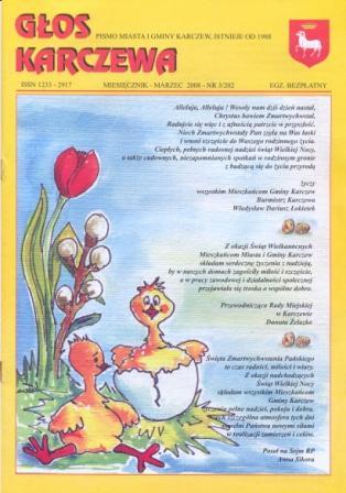 Głos Karczewa Nr. 03/2008