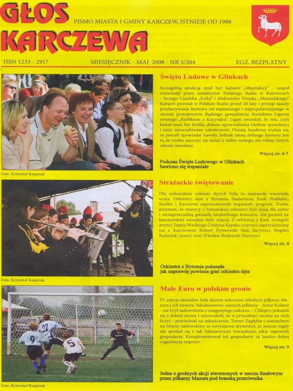 Głos Karczewa Nr. 05/2008