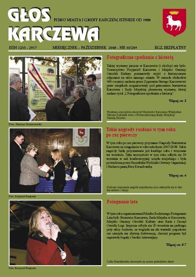 Głos Karczewa Nr. 10/2008