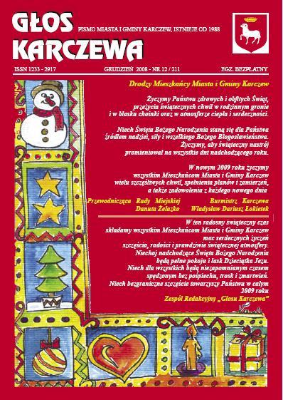 Głos Karczewa Nr. 12/2008